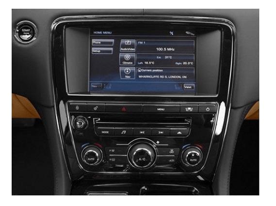 Мультимедійний відео інтерфейс Gazer VI700A-JLR/B (Jaguar/Land Rover)