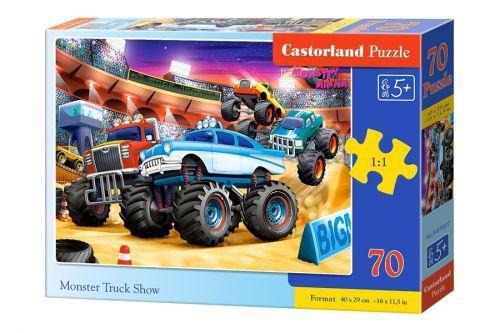 "Пазлы ""Monster Truck Show"", 70 элементов B-070077|Castorland| для детей"