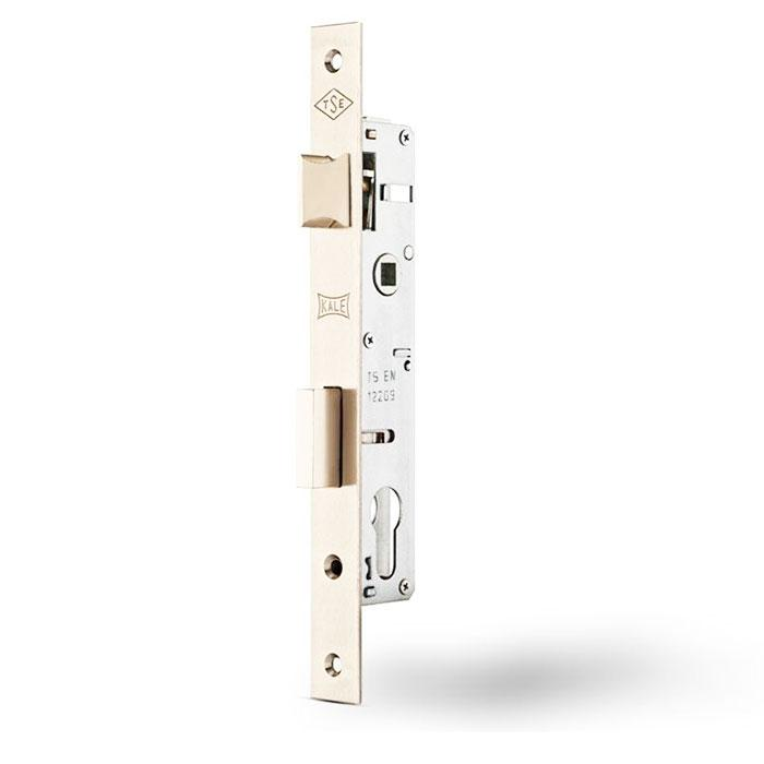 Замки для металлопластиковых дверей врезной KALE 153 бексет 20mm 85мм Никель