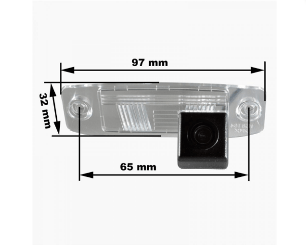 Камера заднего вида Prime-X CA-9537 Hyundai, Kia