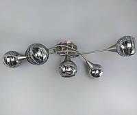 Современный люстра в стиле лофт на 5 шаров, фото 1