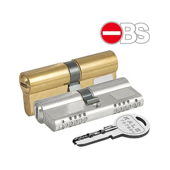 Вставка для замка KALE 164 OBS-B 26+10+32: 68 mm латунь 5 ключей