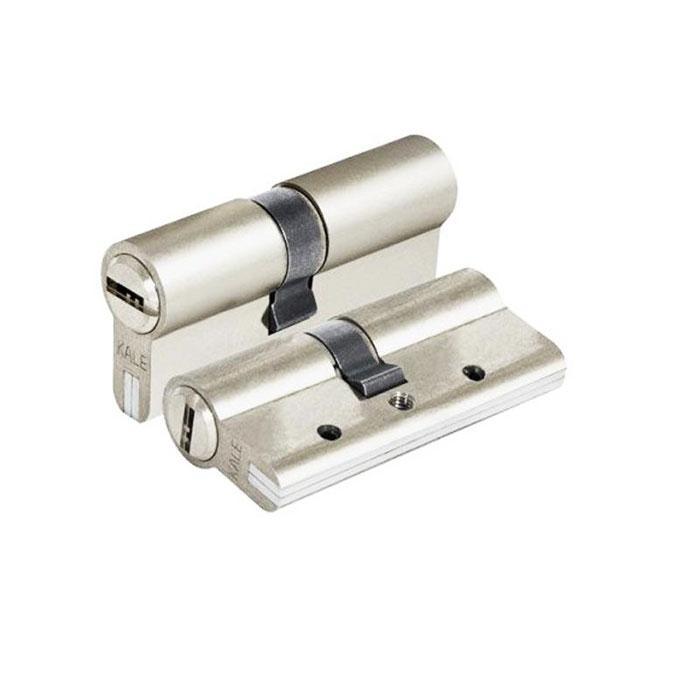 Цилиндры под ключ KALE 164 DBNE 45+10+45: 100 mm никель 5 ключей