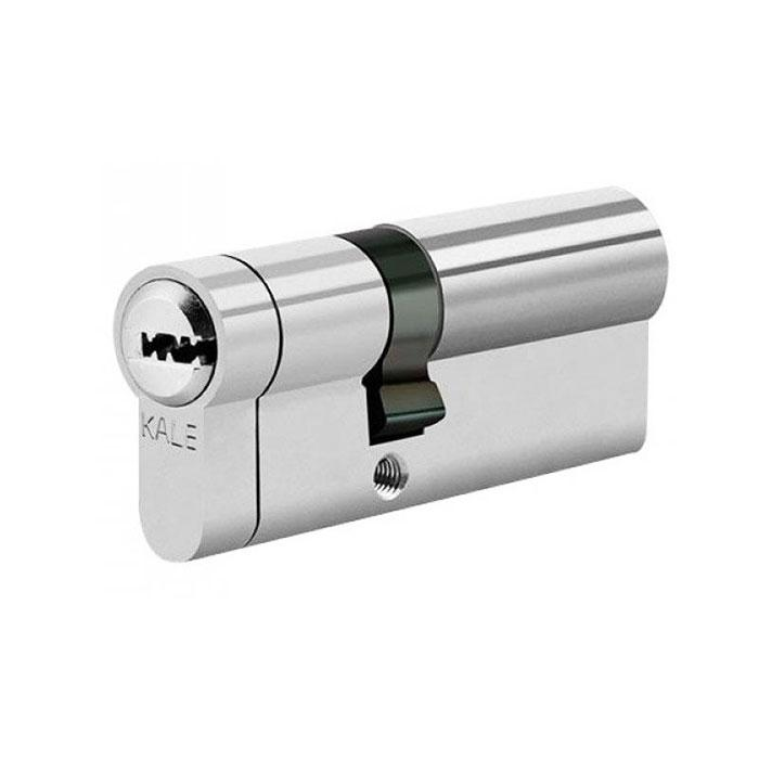 Цилиндры Kale 164 KTB S 35+10+35 80 mm никель 5 ключей