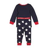 Детская пижама для мальчиков 1-2 года, 80-92 см Minoti, 80-86 cм, фото 2