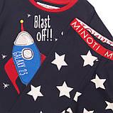 Детская пижама для мальчиков 1-2 года, 80-92 см Minoti, 80-86 cм, фото 3