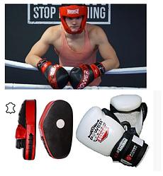 Екіпірування для боксу і єдиноборства