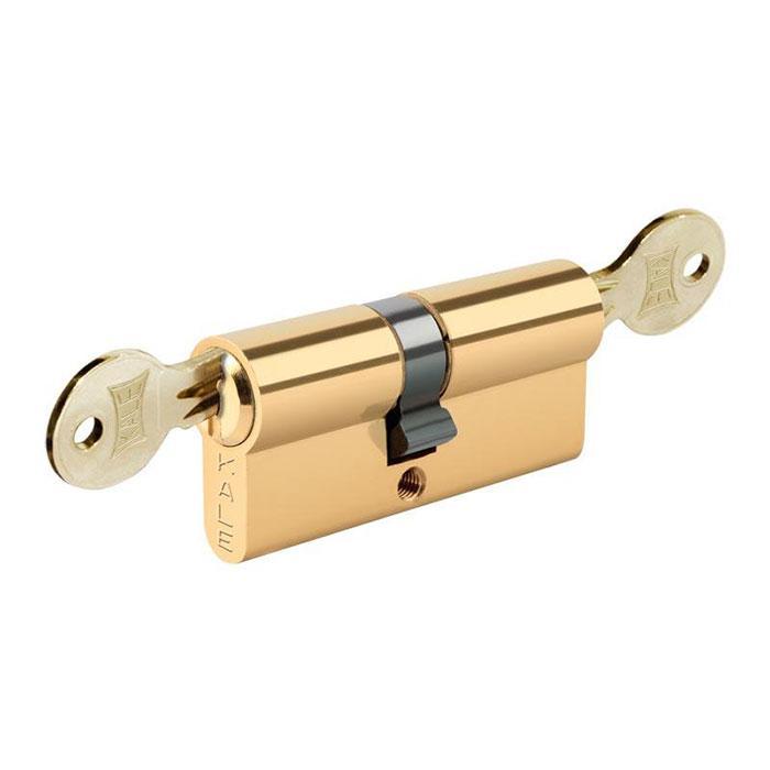 Вставка для замка KALE 164 GS 26+10+35: 71 mm латунь 3 ключа