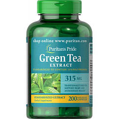 Green Tea Standardized Extract 315 mg - 200 caps