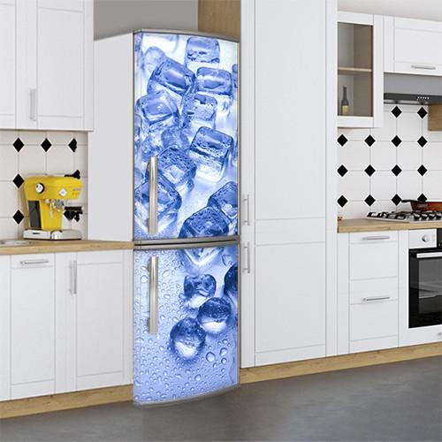 Цветочный холодильник своими руками, Магнит, 180 х 60 см, Лицевая