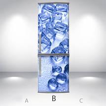 Цветочный холодильник своими руками, Магнит, 180 х 60 см, Лицевая, фото 2