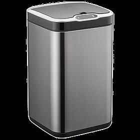 Сенсорное ведро для мусора с внутренним ведром Jah6310 7л Черное (Papatya-TM)