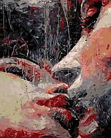 Картина по номерам Страстный поцелуй (AS0188) 40 х 50 см ArtStory, фото 1