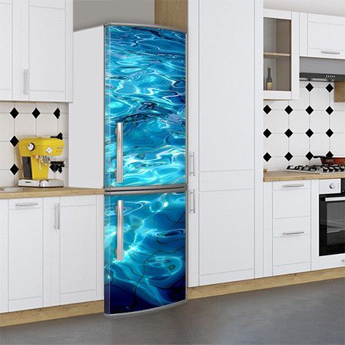 Чем можно обклеить холодильник, Магнит, 180 х 60 см, Лицевая