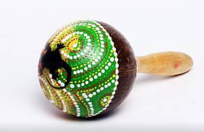 Маракас цветной ( Ма-73) Индонезия