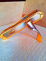 Ручка на планці алюміній 85 мм Hi-LUKE BH43B (P04-H50SN/GP)