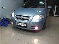 Установка светодиодных ламп Chevrolet Aveo