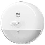 Tork SmartOne диспенсер для туалетной бумаги в мини-рулонах, белый Т9, фото 3