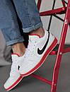 Кроссовки мужские Air Jordan Retro 1 Low, белые, фото 8