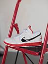 Кроссовки мужские Air Jordan Retro 1 Low, белые, фото 2