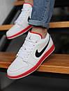Кроссовки мужские Air Jordan Retro 1 Low, белые, фото 4