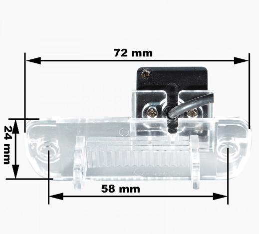 Камера заднього виду Prime-X CA-9832 Mercedes