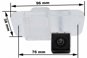 Камера заднего вида Prime-X T-012 Ssang Yong