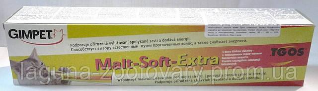 Паста для выведения проглоченной шерсти Мальт-Софт Экстра 100гр, фото 2