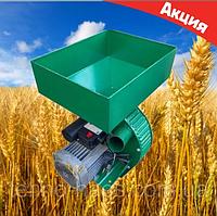 Кормоизмельчитель (Зернодробилка) Фермер Д-2 (VEGIS) 2.5 Квт Крупорушка Млин Дку (500 кг\час) Гарантия 4 ГОДА