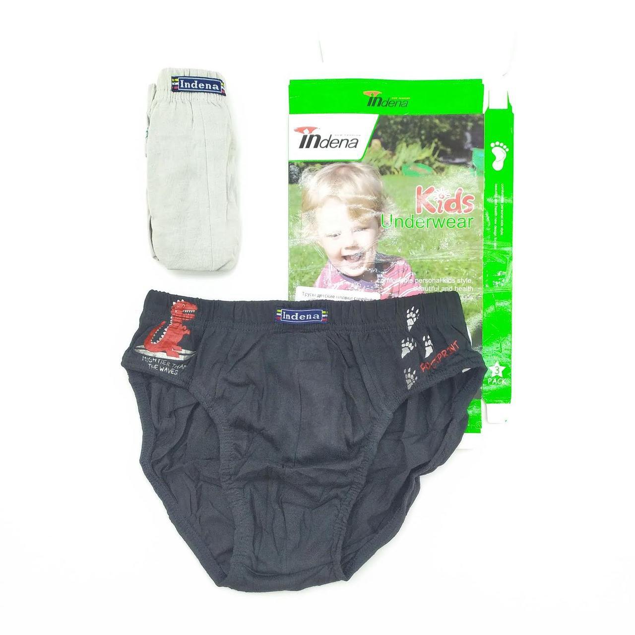 Трусы детские плавки стрейчевые х/б IN.INCONT underwear in-006, хлопок, 20032166