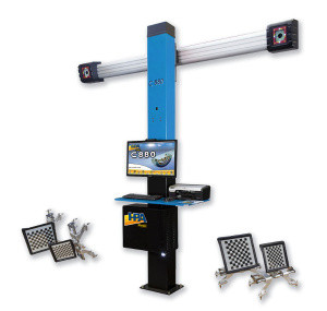 Стенд развал схождение с двумя камерами HPA C800 3D
