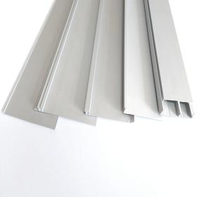 Встроенный алюминиевый плинтус
