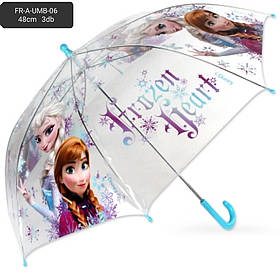 Зонты для девочек оптом, Disney, 48*8 см, арт. FR A-UMB-06