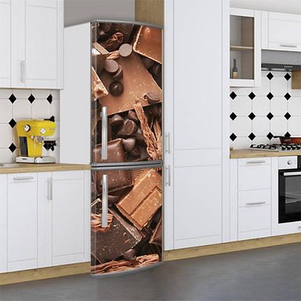 Виниловые Магнитные наклейки на холодильник, Магнит, 180 х 60 см, Лицевая, фото 2