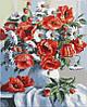 Картина по номерам Маки и ромашки (BK-GX3812) 40 х 50 см [Без коробки]