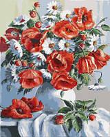 Картина по номерам Маки и ромашки (BK-GX3812) 40 х 50 см [Без коробки], фото 1