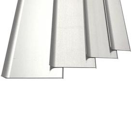 Накладной алюминиевый плинтус