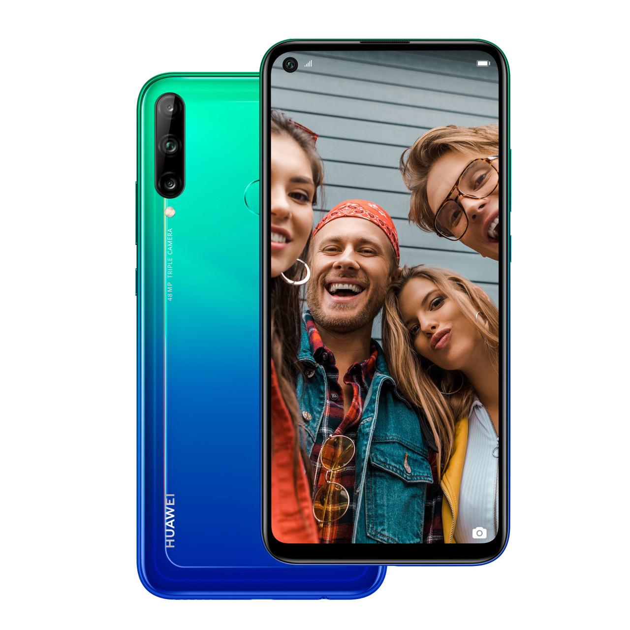 "Смартфон HUAWEI P40 Lite E 4/64GB 6,39"" Aurora Blue"
