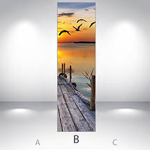 Раскраска холодильник, Магнит, 180 х 60 см, Лицевая, фото 3