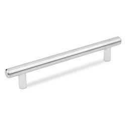 Ручка рейлинговая ALVA 1008/288 Матовый хром