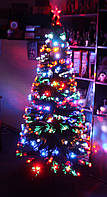 Новогодняя светодиодная елка 210 см высотой