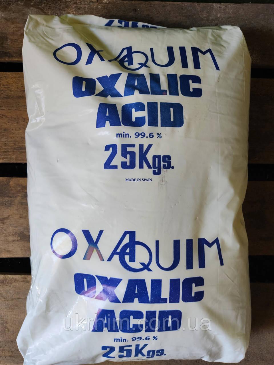 Щавлева кислота від 25 кг.