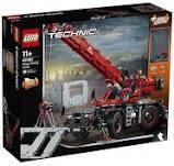 Авто-конструктор LEGO Technic Підйомний кран (42082)