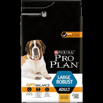 Сухой корм Pro Plan Large Robust для собак крупных пород с курицей, 14 кг