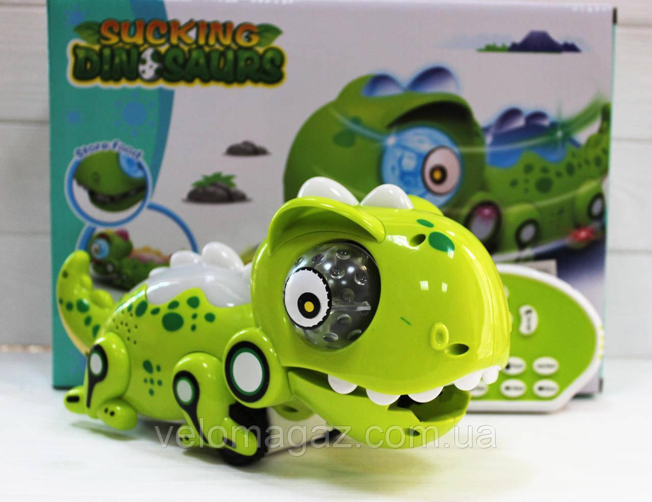 """Інтерактивна іграшка хамелеон 802, """"їсть комашок"""", 28 см, на радіокеруванні, акумулятор, змінює колір"""