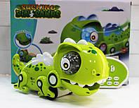 """Інтерактивна іграшка хамелеон 802, """"їсть комашок"""", 28 см, на радіокеруванні, акумулятор, змінює колір, фото 1"""