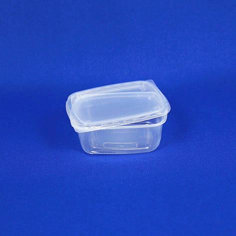 Контейнеры для еды одноразовые, 200 мл, упаковка — 100 шт, фото 2