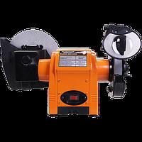 Кутове точило електричне WorkMan 150WG електроточило, точильний верстат з мокрим каменем, електро наждак, фото 1