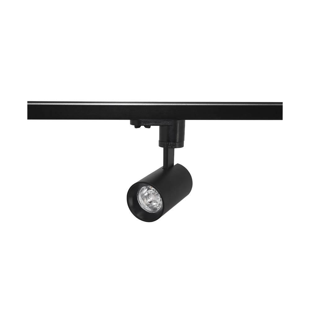 Трековый светильник Skarlat H209A-COB 12W BK 4000K #K/A