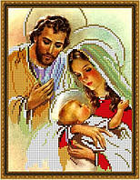 Вышивка схемы бисером, Канва Иконы Религия Святое семейство